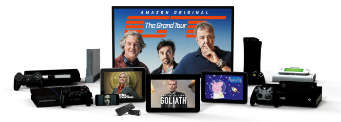 Amazon Prime Instant Video Streaming devices