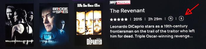 Now TV Subtitles icon