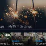 YouView interface header