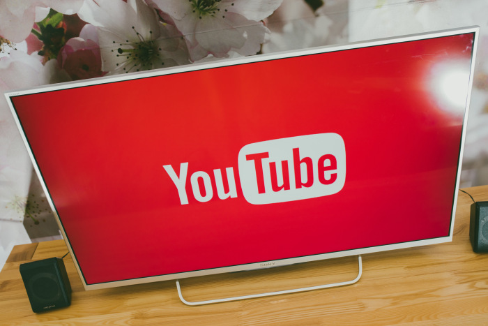 YouTube on a telly