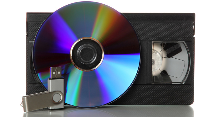 vhs tape dvd usb