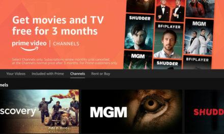 Amazon Channels deal