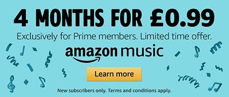 Amazon Music 4 months