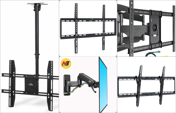 Best TV Brackets and TV Wall Mounts