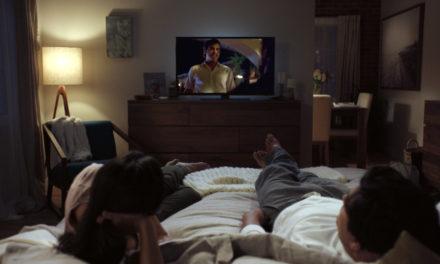 Watching Netflix Narcos on TV