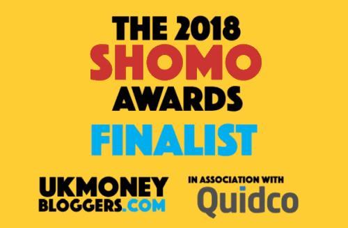 Shomos Best Special Money Blog finalist