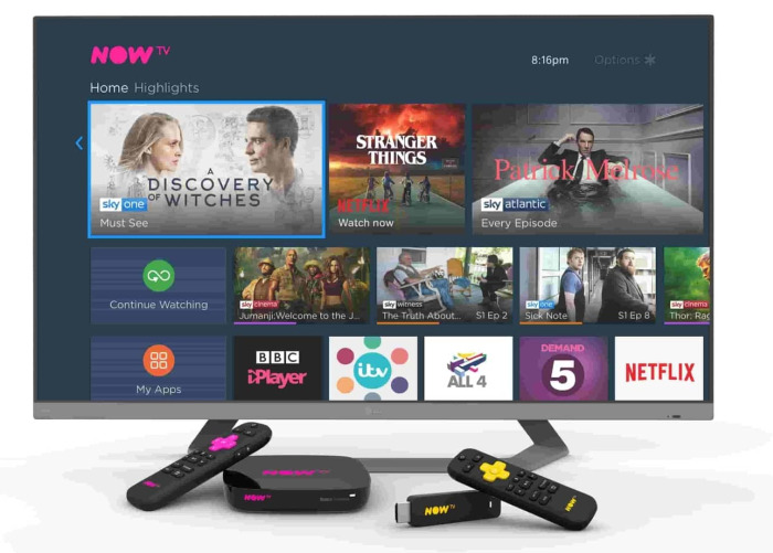 NOW TV 4K Smart Box with Netflix