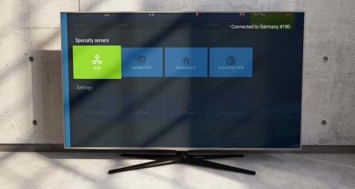 NordVPN on TV