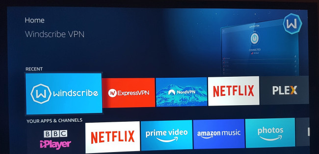 VPN Apps on the Fire TV - ExpressVPN, NordVPN, Windscribe