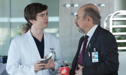 The Good Doctor freddie highmore richard schiff