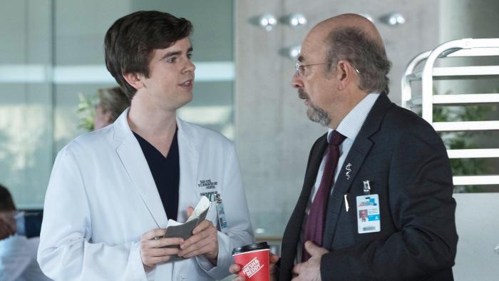 The Good Doctor freddie highmore richard schiff