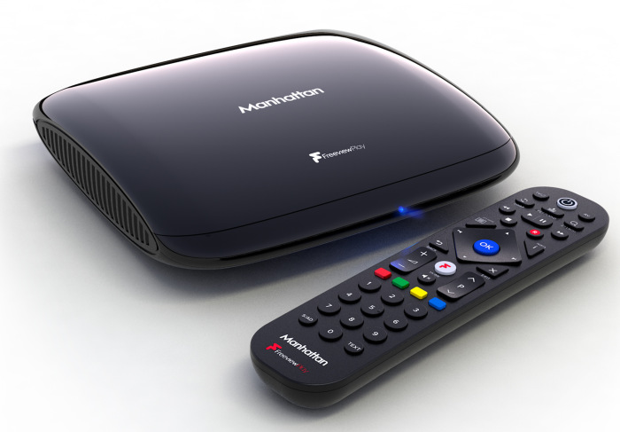 Manhattan t3 freeview play and remote