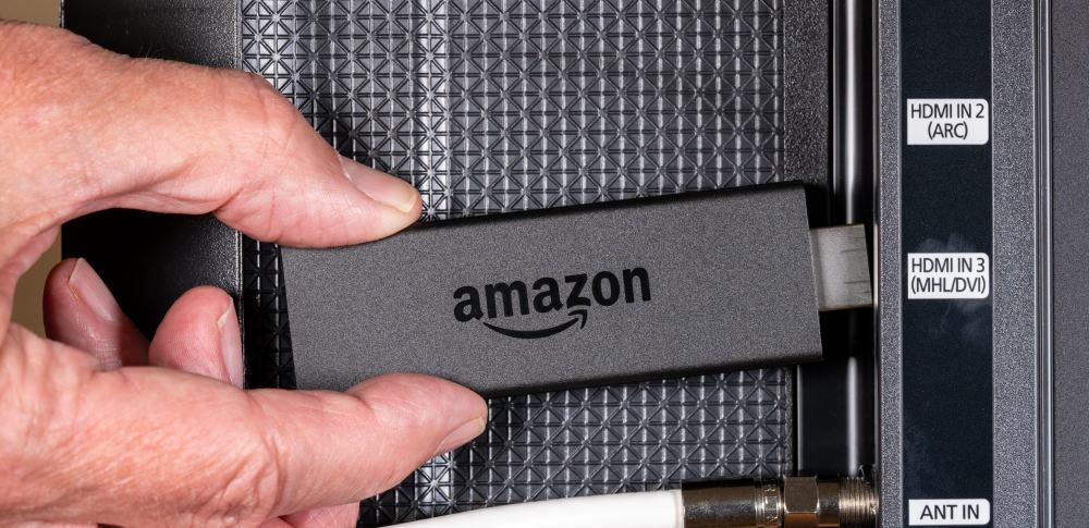 Amazon FIRE TV stick in TV