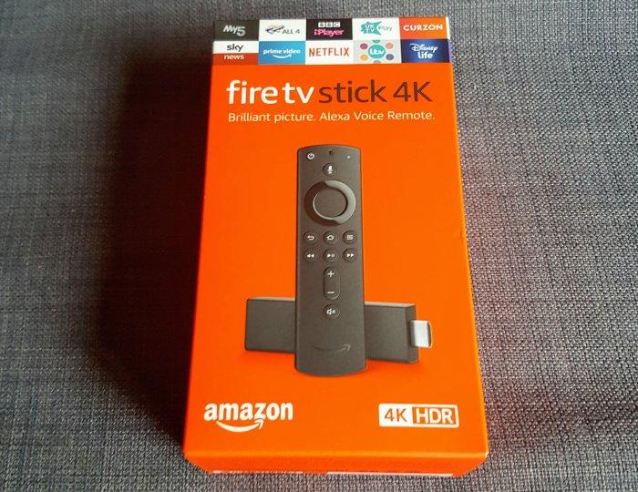 Amazon Fire TV stick 4k box