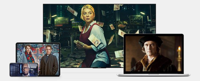 BritBox site screenshot