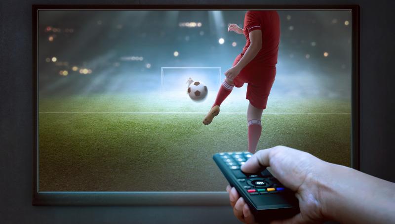 Sports on TV football