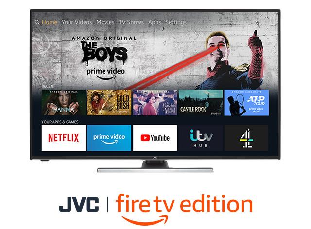 The Fire TV JVC TV