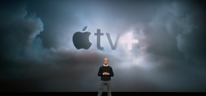 Tim Cook apple tv plus