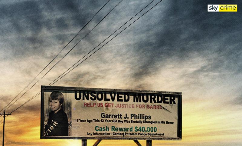 Sky Crime unsolved murder garrett