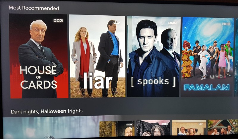 BritBox recommended on Fire TV