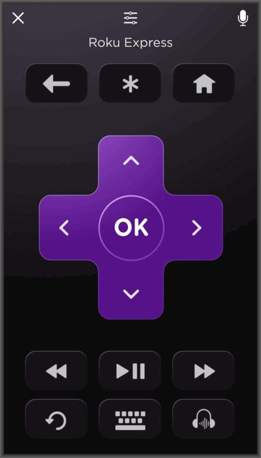 Roku Express app remote