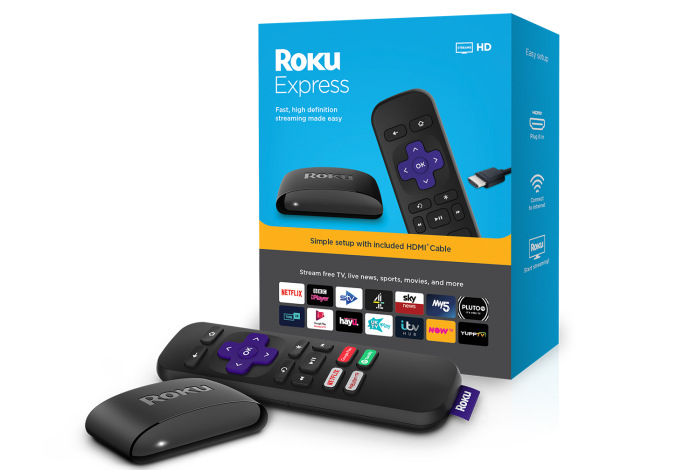 Roku Express box and device official