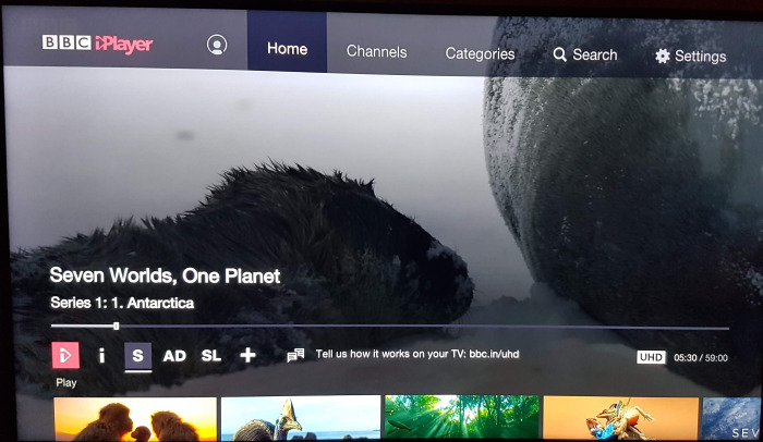 Roku streaming stick plus bbc iplayer 4k