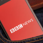 BBC News on a phone 700