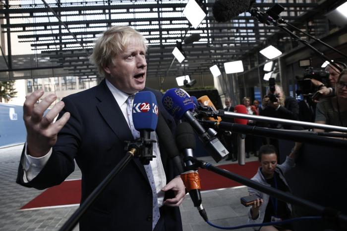 Boris Johnson UK PM