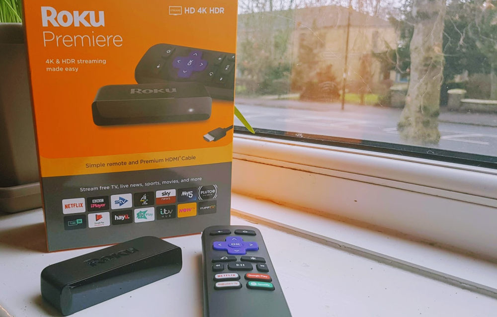 Roku Premiere UK box