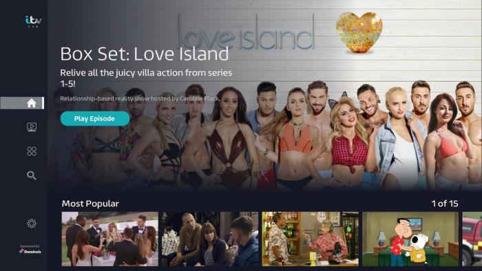 ITV Hub on Roku