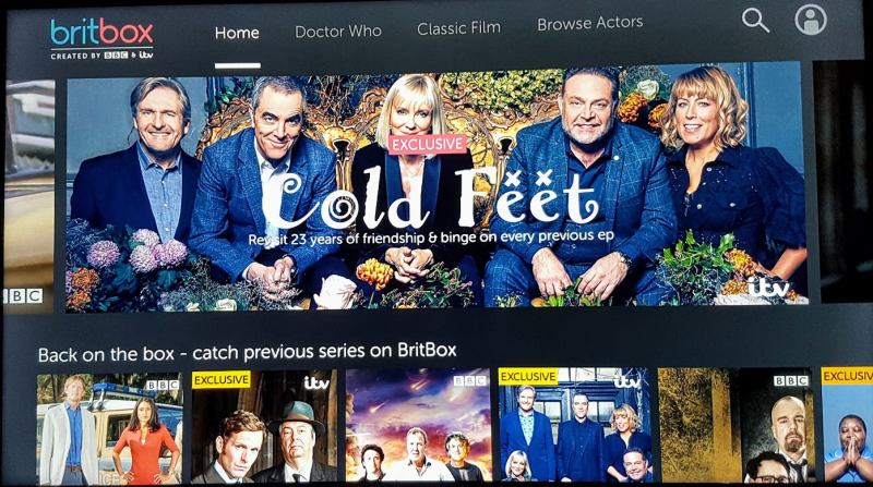 BritBox on amazon fire tv