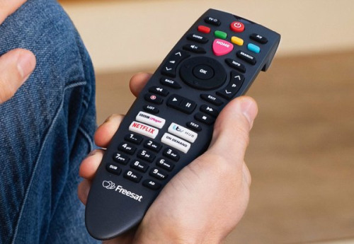 Freesat 4K remote