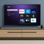 Roku TV screen