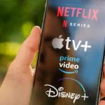 streaming services on phone netflix apple disney prime