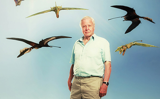David Attenborough's Flying Monsters sky docomentary