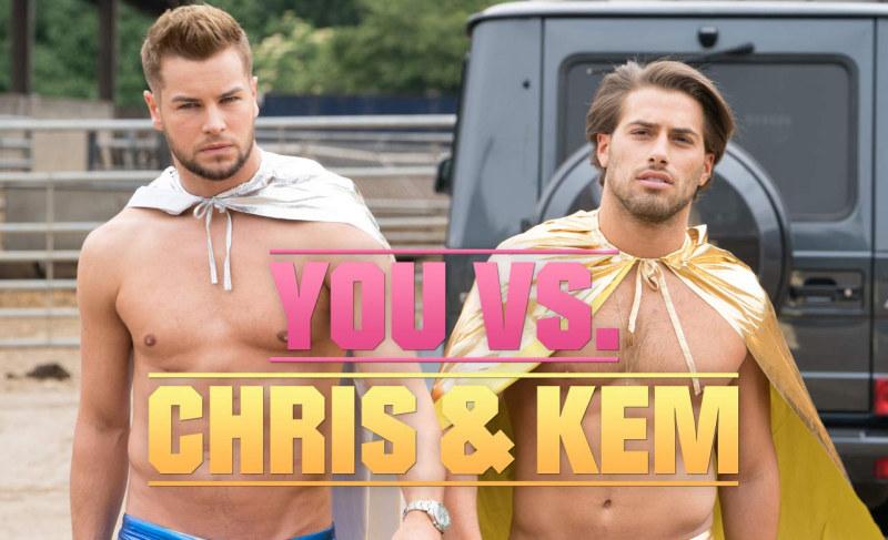You VS Chris and Kem ITV