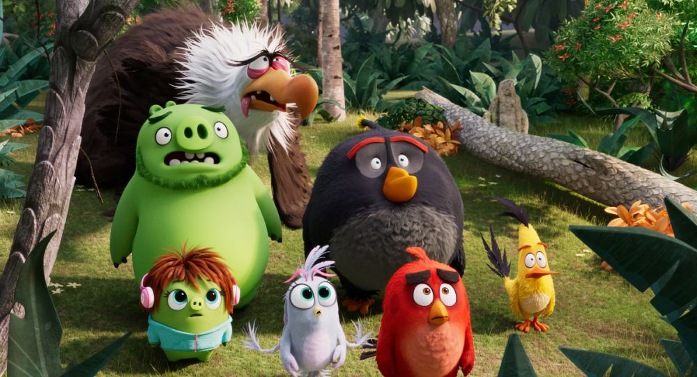 Angry Birds 2 sky cinema animation
