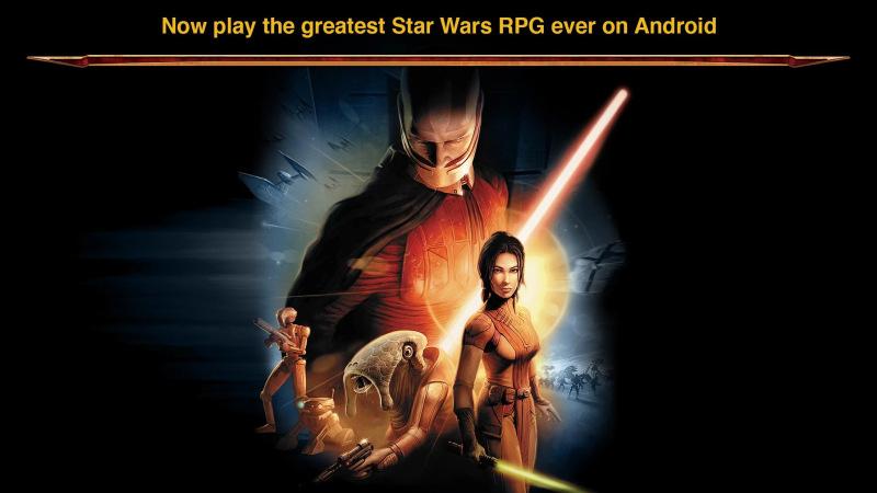 Star Wars kotor play store