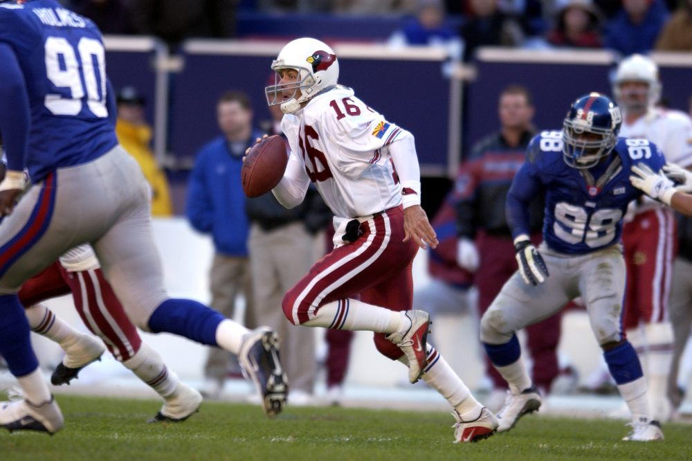 NFL football Jake Plummer Quarterback Arizona Cardinals