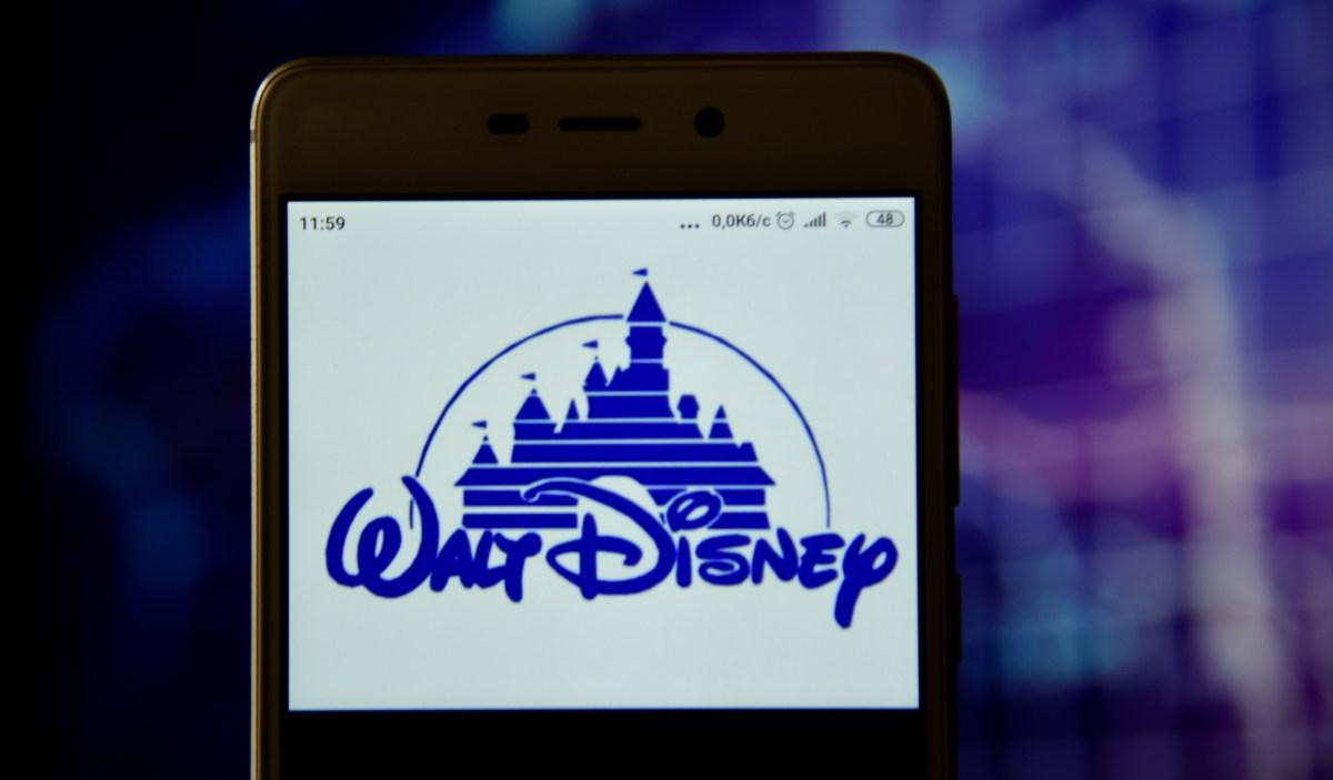 walt disney logo on phone - deposit - plysuikvv