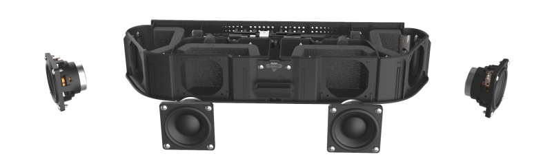 roku streambar soundbar - inside