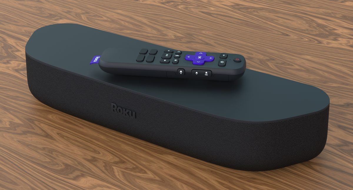 Roku Streambar soundbar on Table