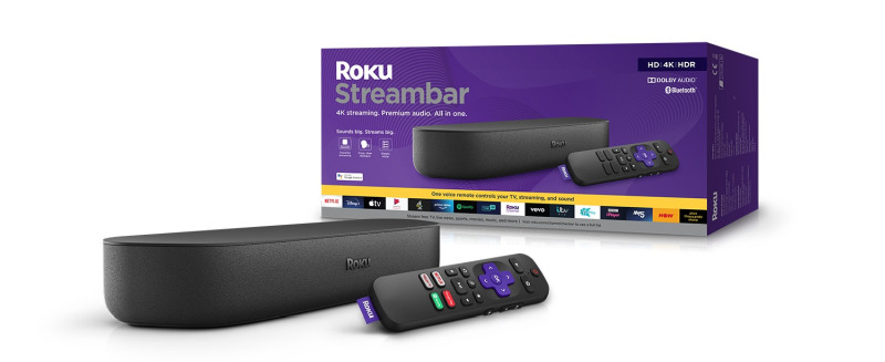 Roku Streambar with Packaging