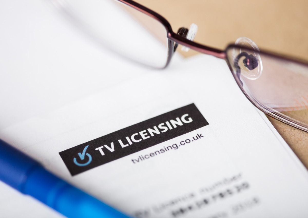 TV licence documents