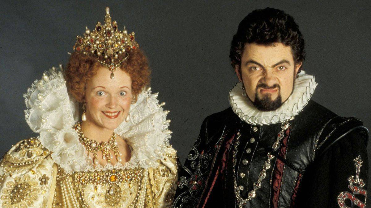 Blackadder rowan atkinson