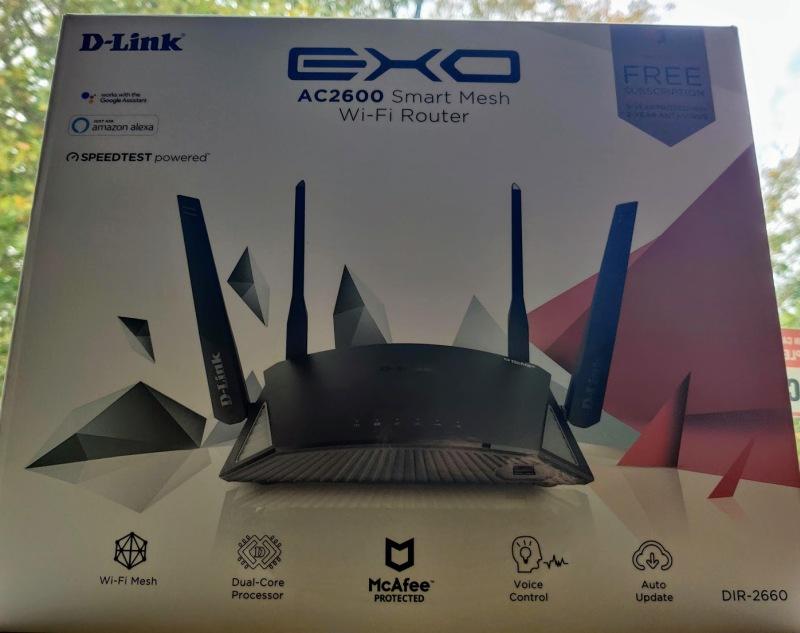 EXO AC2600 Box
