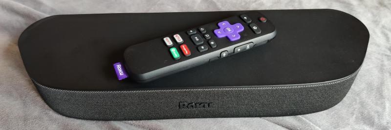 Roku Streambar with remote