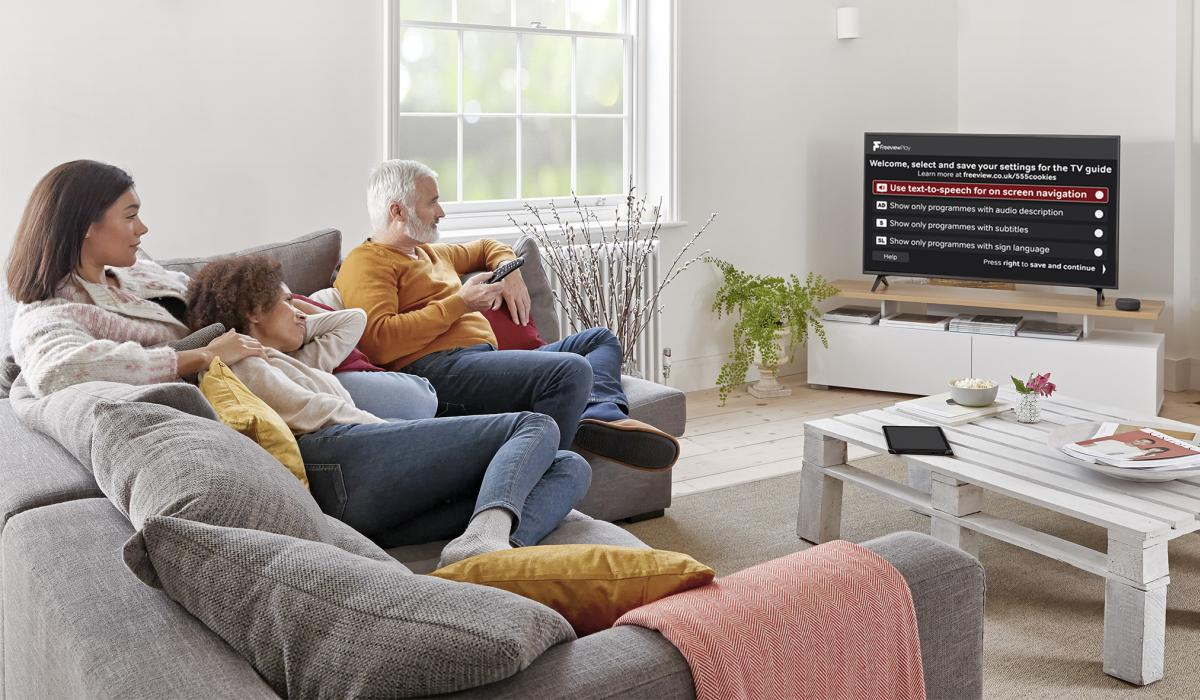 freeview play accessible guide home