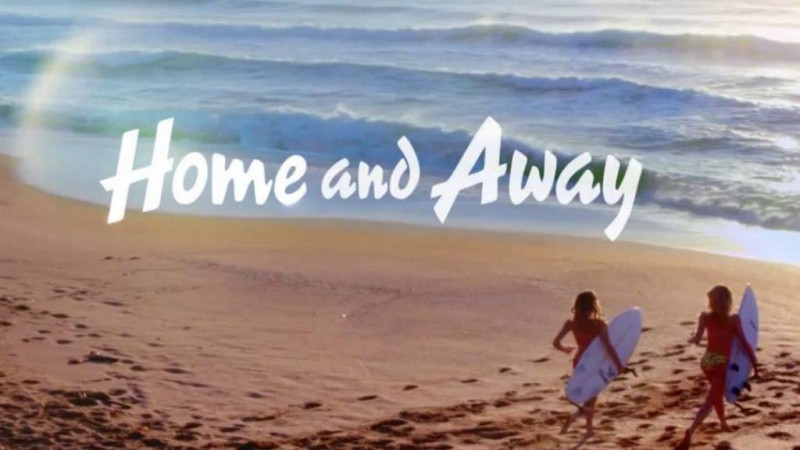 Home and Away with logo